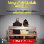 RT @actorprepares: The wait is over #Merawohmatlabnahitha starring Anupam kher,Nina Gupta & Rakesh Bedi premieres tomorrow in SINGAPORE htt…