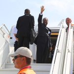 #PIC: Hassan Sheikh flies to #Abuja for attending inauguration ceremony of #Nigerian President, Muhammadu Buhari. http://t.co/tiXgsOt1He