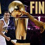 Warriors will host Cavaliers in NBA Finals starting June 4. Two teams split season series, 1-1. http://t.co/hzvYCHH29Y