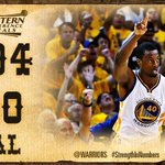 #Warriors win #WCF series 4-1 to earn their first trip to the #NBAFinals since 1975. http://t.co/UWbnUxAnXf