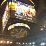 One week from tomorrow, the #NBAFinals come to #WarriorsGround. http://t.co/Z9SYvl1MCZ