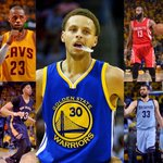 Steph Curry will become 1st player NBA history to face each of other 4 members of 1st-team All-NBA in same playoffs. http://t.co/Ge5aBcqyD3