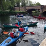 The @L_O_P_C have launched a new canoeing trail on the River Soar that takes you into the heart of the city centre. http://t.co/MdXyLByZW9