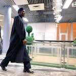 Photo-Speak @MBuhari back in #Nigeria a day to historic take over from Goodluck Jonathan http://t.co/fSiURORFT7