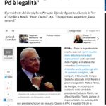 #Renzi ciancia di legalità mentre candida a governatore un condannato ineleggibile ed una indagata. Il re dei buffoni http://t.co/eMHUqYY9vQ