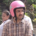 My bro's cool geeky look in #BOMBAIRIYA!!!! Woooooohooooo @SiddhanthKapoor LOVE YOU!!!!!!! http://t.co/vLmIi2kqCv