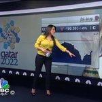 الفيفا دفعت مؤشر بورصة قطر للتراجع الحاد بالامس، والفيفا ايضا ردت له 50% #قطر_2022 #مونديال_2022 #الفيفا http://t.co/LXU6i136WF