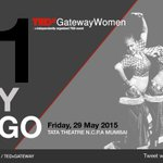 1 day to go #Indias first #TEDxWomen event by #TEDxGateway Join us for #TEDxGatewayWomen 2015 at NCPA, #Mumbai http://t.co/BkvDACIrJU