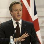 رئيس الوزراء البريطاني ديفيد كاميرون يؤيد الأمير علي بن الحسين المرشح لرئاسة #الفيفا #AliForFIFA http://t.co/UL7cbh5qL7