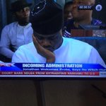 @MObanikoro dozing off during FEC valedictory session. GEJ was giving a speech at this point. Cc: @Drisjany @Ayourb http://t.co/SVJ2hqdYc6