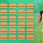 Happy #NationalBurgerDay, @Mirindacarfrae! In a 70.3, Rinny burns 8,000 calories, which equates to 36 1/4 lb. burgers http://t.co/OLSLlEGU3d