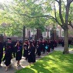 #HBS2015 walks through the gates of Harvard Yard. One step closer to graduation! #Harvard15 http://t.co/l49V4l1bKa