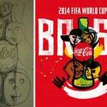 How a #Sketch on a Napkin Progressed to Coca-Colas World Cup Logo http://t.co/1VpxzXzYiM #Dubai http://t.co/Uzau9Tb8G8