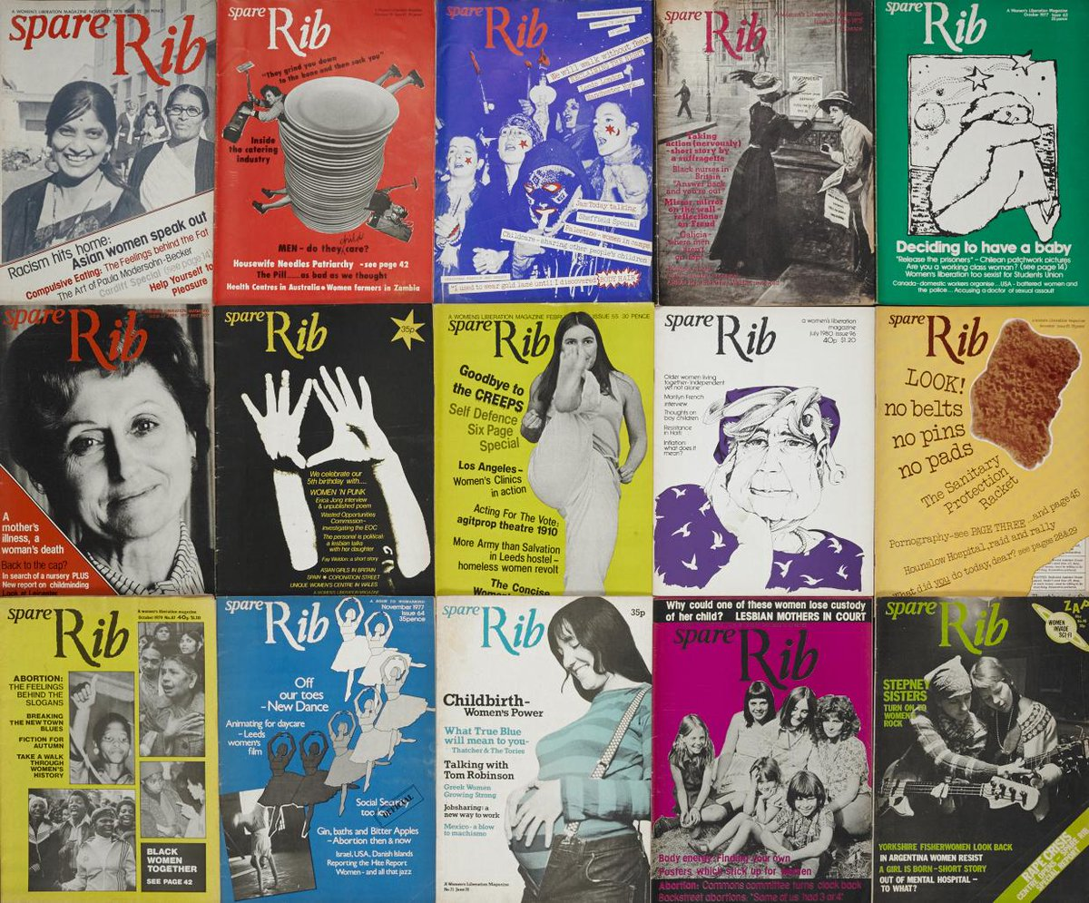 Feminist magazine #SpareRib is now fully available online. Explore its history and impact: http://t.co/cXmHiTQ1zQ http://t.co/54s0Eej0Qu