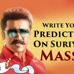 We have space to your prediction on #Suriya's #Masss http://t.co/QFBMNLU7Je #Mass #Massu