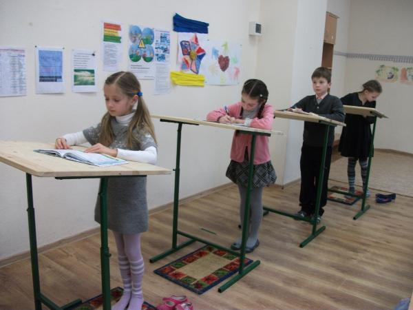 Конторка ученическая своими руками