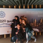 #UAE volunteers sharing a moment with visitors of #Expo2020 @Expo2015UAE #Dubai @Expo2015Milano http://t.co/E0ILgGjNq7