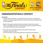 Tweeps, have you participated in the #NBARoadToFinals #contest? Make sure you read all the rules before playing. http://t.co/mzdNBogmig