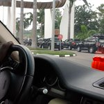 Off to Aso villa. #AsoVillaTour http://t.co/xwck0yZlYd