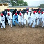 Most hilarious moment for me during @Kwankwaso2015s admin He & his cabinet sweeping venue where GEJ had a rally ???????? http://t.co/yRnwH5gfu6