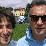 Banchetto a Montegrotto...meglio con la bici!!!! @jacberti @M5STerme @m5spadova http://t.co/J0h7A4asAr
