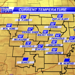 Temperatures are warm this morning...starting in the mid-upper 60s. #arwx #mowx http://t.co/5ZpD75urXs