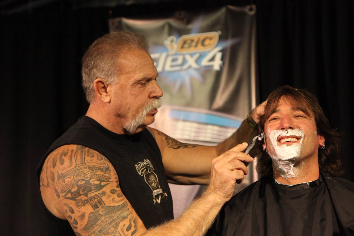 Shave And A Haircuttwo Bits With Bic Paul Teutul Sr And Rick