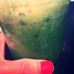 Mega healthy #green juice with B3 niacin! @BeStroUAE at @Glafayettedubai at Lafayette Gourmet @The_Dubai_Mall #Dubai http://t.co/vuVWp5nWbF