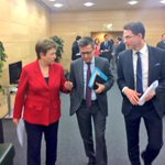 Ready to go on the stage! @jyrkikatainen @Moedas @KGeorgievaEU to tell about the #EFSI agreement. #investEU http://t.co/Zg4br62YG9