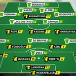 So könnten sie spielen // Expected line-ups for Saturday #bvbwob http://t.co/mvE4t4LNAm