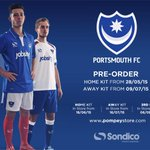 Pre-order the new #Pompey home kit: http://t.co/oPWZdG224Y http://t.co/0oaJNRJdq9