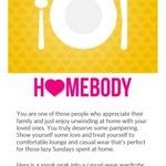 @myntra I am a HOMEBODY 😅 Dadys Fav 😍 #AppreciateYourPersonality http://t.co/ZW4tvI554g .