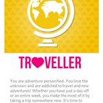@myntra Im #TheTraveller. Born to explore beautiful places 🌟🏡✈🏰✈🏯✈🗽✈🗼✈🏡🎧🎉  🌟#AppreciateYourPersonality🌟😃,,,, http://t.co/WARXlVjyCP