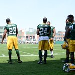 First practice in front of the fans for @RandallTime, @QRollins2 & the rest of the #Packers rookies. http://t.co/YPnNKYIoHo