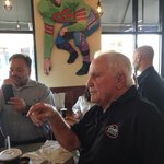 """Coach Shula at Shula Burger in Delray: """"Coaches dont prescribe painkillers. Team Doctors do."""" #Dolphins. http://t.co/1TuiJ5iqCF"""