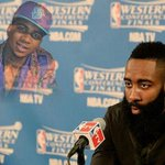 . @LILBTHEBASEDGOD ​cursed @JHarden13​ + the internet had the best reaction memes! ???????????? http://t.co/YyKyfPuvfR http://t.co/1XMCWCX4Ro