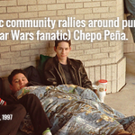 #TBT That time a @statesman photog shot Chepo Pena camping for Star Wars. Hes @HITWatx Fri. http://t.co/r75d0gjiSY http://t.co/AYKy6fA5Dg