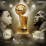 The 2015 #NBAFinals between the @Warriors & @Cavs tips off at 9pm/et June 4th on ABC! http://t.co/w5U5mR78f5