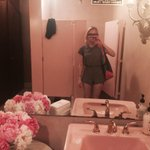 go to a fancy lunch realize its fancy get social anxiety take selfie in pink bathroom & leave http://t.co/XkB817nMnj