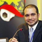 قرر اتحاد كرة القدم في #النرويج التصويت لصالح الأمير علي بن الحسين في انتخابات الفيفا. http://t.co/kspHMCbIax