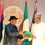The most talked about change is finally here to God be the glory #ChangeIsHere @MBuhari @APCNigeria http://t.co/w2EX4CZjoz