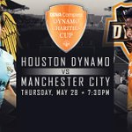 Guess what? ITS GAMEDAY! Tonight we host @MCFC in the BBVA Compass Dynamo Charities Cup at 7:30 PM. #HOUvMCFC http://t.co/vAp2sqw1BT