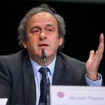 Platini on #FIFA: 'I told Sepp Blatter to leave, to step down, because you are giving FIFA a terrible image http://t.co/3yEYCluazW