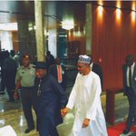 GEJ and GMB holding hands. Heartwarming http://t.co/fnZYy7agA2