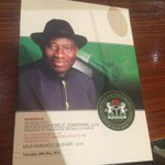 See @DOluseguns TL for never-seen-before photos from Aso Rock as President Jonathan takes @MBuhari on #AsoVillaTour. http://t.co/X3MwG9rUib