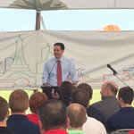 .@GovWalker speaking at groundbreaking for Saint-Gobain in Portage #news3 http://t.co/fBLXt6Issr