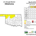 May rain have made a huge dent in the drought. Only 2.7% of the state remains in moderate drought. http://t.co/IJDv6RegiK