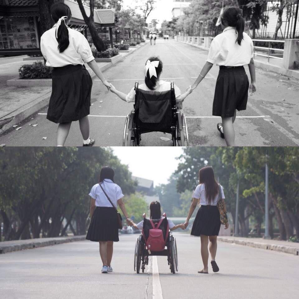 ความพิการไม่ใช่อุปสรรคในการเรียนรู้ . #หนึ่งในทรวง http://t.co/x703lI6tDX