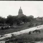 At the time of its construction the Texas capitol was the 7th largest building in the world, 1892 #tbt (C01623) http://t.co/0dFLuRmXa7