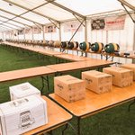#Brighton Beer & Cider Festival all set up! Just @Harveys1790 & @wobblegate then everyone in place for tomorrow! http://t.co/zQ82CFEDUR